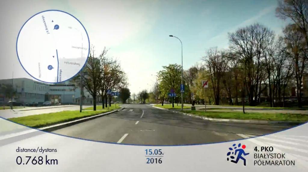 Trasa PKO Białystok Półmaraton
