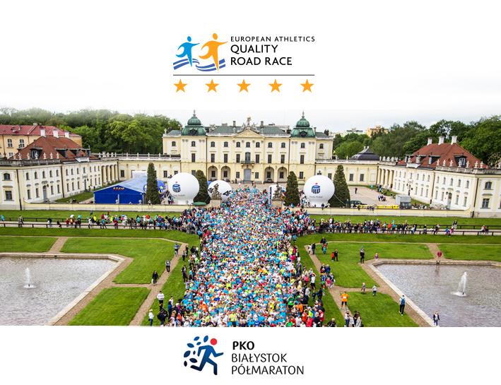 gwiazdki dla Białystok Półmaratonu